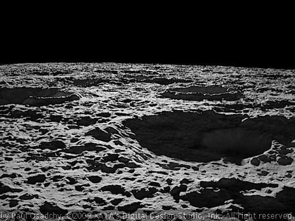 planets moons craters - photo #48
