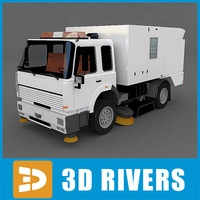 Street sweeper 01 by 3DRivers