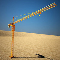 3d tower crane model