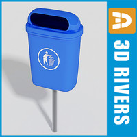 Trash can 31 by 3DRivers