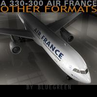 Airbus A330-300 Air France S