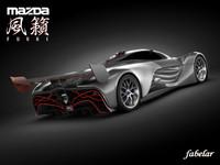 Mazda Furai standard materials
