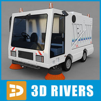 3ds max street sweeper