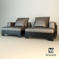 3d minotti sofa chaise