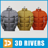 Down jacket set by 3DRivers