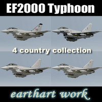 EF2000 Typhoon (4 country)