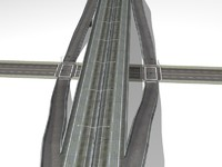 highway ramp 3d 3ds