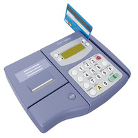 pos card reader machine 3d model