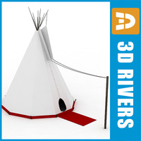 Tepee by 3DRivers