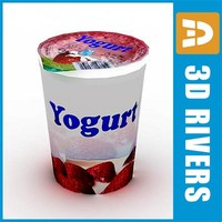 Yoghurt pack 01 by 3DRivers