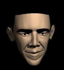 President Barack Obama model