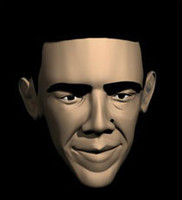 ma president barack obama head