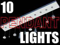 10 Pendant Lights.max