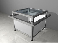 metal end table 3d ma