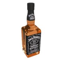 liquor 3d model