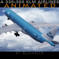 Airbus A330-300 KLM A