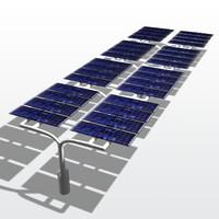 maya carport solar panel