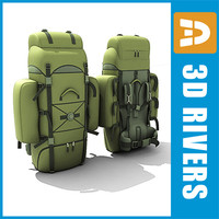 Military backpack by 3DRivers