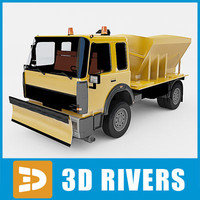 Snow removal machine 02 by 3DRivers