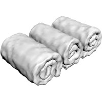maya rolled towels