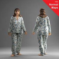 metropoly characters human 3d model