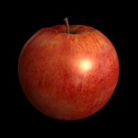 apfel apples 3d obj