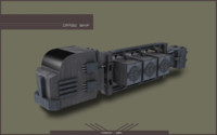 space ship transport 3d x