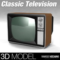 Classic TV - LOW POLY