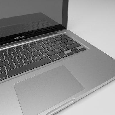 Mac Keyboard 3d 3ds