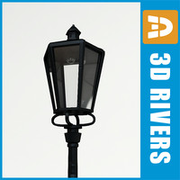 3ds max street light streetlights