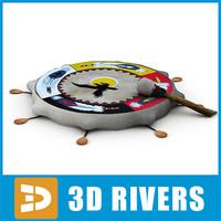 3ds max shaman tambourine
