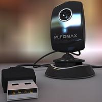 web camera 3d model