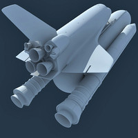 Space Shuttle NASA 3D Model