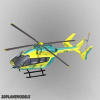 Eurocopter EC-145 SOS Helikoptern Gotland