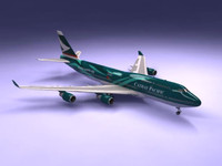 3d airliner chinese 747