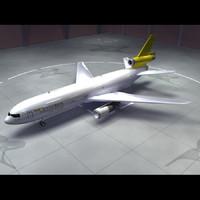 dc-10 centurion air cargo 3d xsi