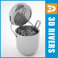 3ds max ice bucket
