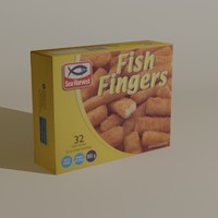 3d model sea harvest fish
