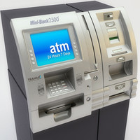 ATM / Kiosk for card, cash, checks, and ticketing