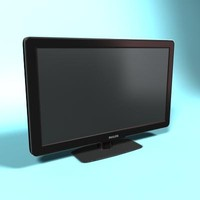 3ds max television fullhd
