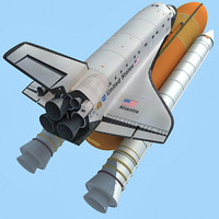NASA Atlantis Shuttle
