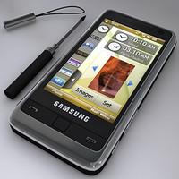 samsung i900 omnia 3d model
