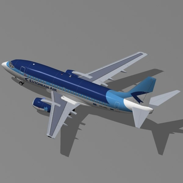 3d model b 737-500 - Boeing 737-500 Collection... by PedroFaut