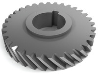 helical gears 3d model