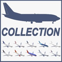 Boeing 737-500 Collection