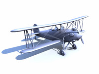 Great Lakes Biplane Model