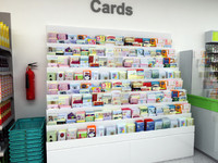 Shop gift Card Display Stand FSDU