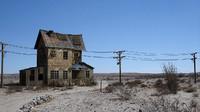 desert house scene