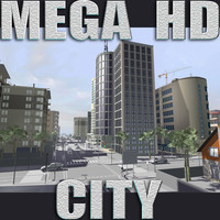 3d 3ds city buildings construction street
