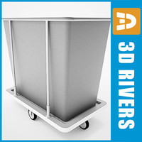 Laundry cart 03 by 3DRivers